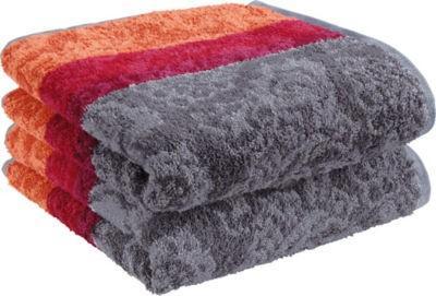 【推荐】Erwin Müller 有机全棉 毛线圈针织浴巾 2件装 多色可选(多重优惠+全额税补)