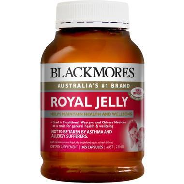 Blackmores 澳佳宝 蜂王浆胶囊 365粒 (满89澳减8澳,满99澳减12澳)