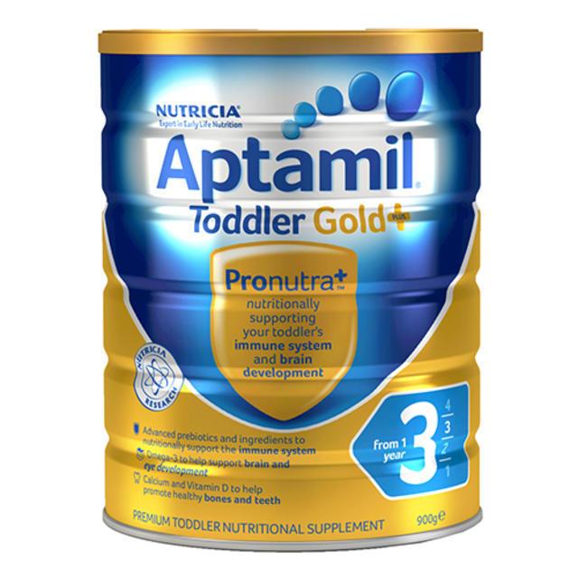 【全场折上9折】Aptamil 爱他美金装奶粉3段 900g