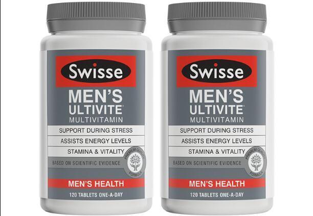 澳新好货【限时特价】【2件包邮装】Swisse 男士复合维生素片 2x120片 瓶 券后包邮价:259元