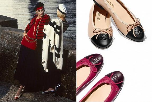 Chanel经典芭蕾舞鞋回归 多种颜色格纹可选