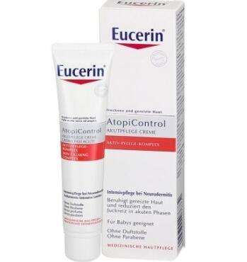 运费首重8欧+满65欧减3欧+特价 EUCERIN 优色林 AtopiControl湿疹过敏深层舒爽霜 40ml