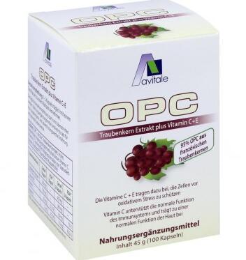 运费首重8欧+满65欧减3欧+特价 OPC 葡萄籽抗氧化胶囊 100粒