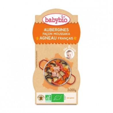 零食控最爱都在这儿 全场邮费6折(YF06)满89欧再减5欧 伴宝乐 法式茄子炖小羊肉婴儿辅食 200g2