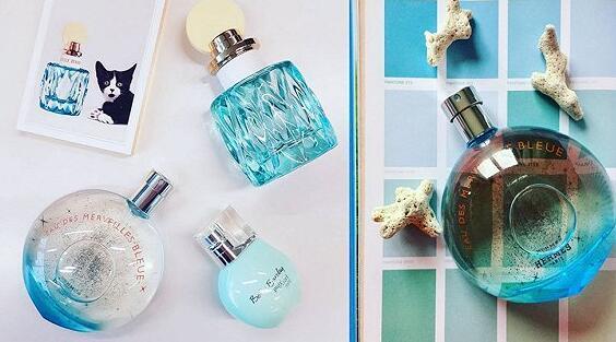 """爱马仕Hermès """"Eau Des Merveilles Bleue""""香水英国发售"""