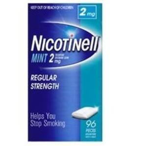 【澳洲Roy Young药房】Nicotinell 2mg尼古丁戒烟糖(薄荷味)96粒