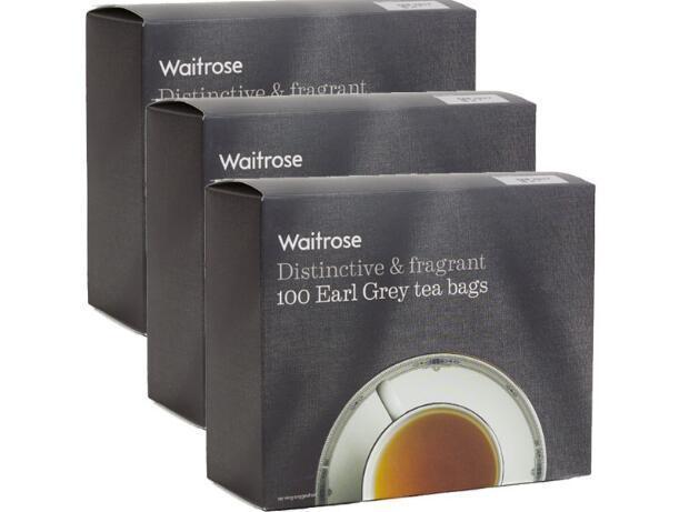 【3件包邮装】Waitrose 伯爵茶包 3x250g 盒 包邮券后价:119