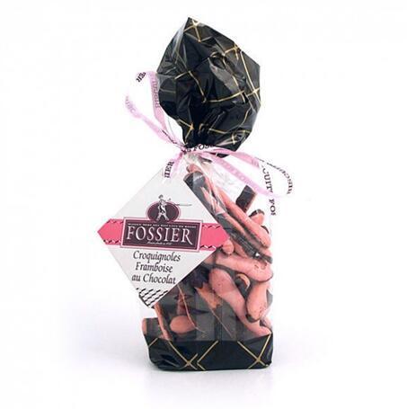 零食控最爱都在这儿 全场邮费6折(YF06)满89欧再减5欧 巧克力覆盆子蛋白酥 150g 袋