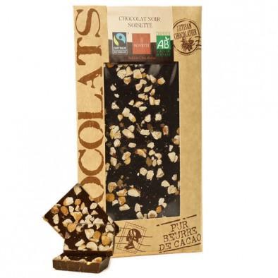 零食控最爱都在这儿 全场邮费6折(YF06)满89欧再减5欧 有机榛子味黑巧克力板 100g 块