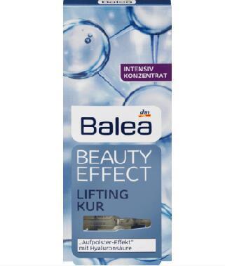 运费首重8欧+满65欧减3欧+特价 Balea 芭乐雅 浓缩玻尿酸精华液安瓶 7安瓶1ml