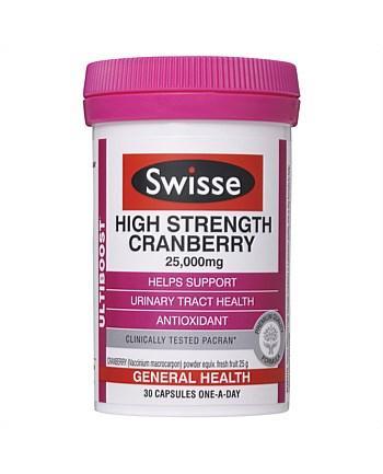 Swisse 高浓度蔓越莓胶囊 30粒(提高女性免疫力,补血养颜淡斑)