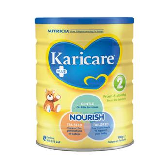 Karicare 可瑞康 2段婴幼儿配方奶粉 (6个月以上) 900g (促进大脑和眼睛发育)