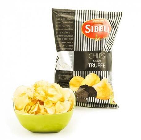 零食控最爱都在这儿 全场邮费6折(YF06)满89欧再减5欧 SIBELL 松露薯片 100g