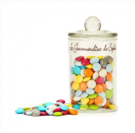 零食控最爱都在这儿 全场邮费6折(YF06)满89 欧再减5欧 多彩糖衣巧克力 110g 瓶
