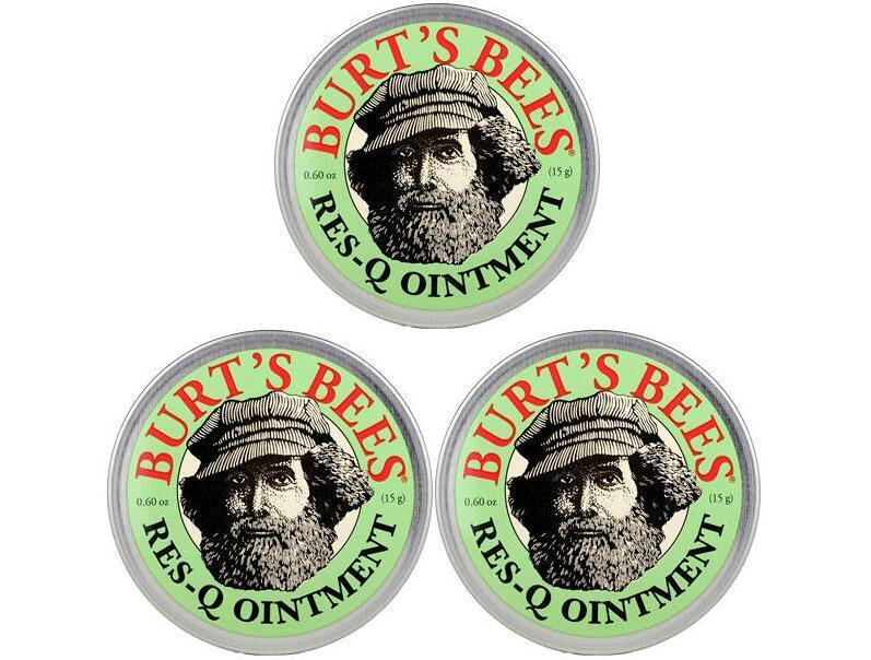 【3件包邮装】Burt& 039s Bees 小蜜蜂 神奇紫草急救软膏 3x15g 盒  包邮包税价:119元