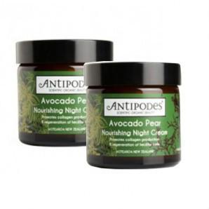特价:【KiwiDiscovery】Antipodes 天然有机鳄梨牛油果晚霜 60ml 两件包邮90纽 约¥435