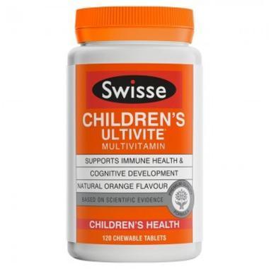 Swisse 儿童专用复合维生素咀嚼片 120片 (全场满89澳免邮3kg)