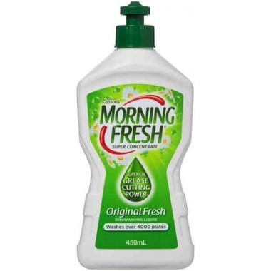 Morning Fresh 超级浓缩多功能餐具水果蔬洗洁精450ml(原味型)  (全场满89澳免邮3kg)