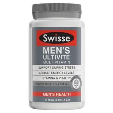 Swisse 男士复合维生素片 120片 (全场满89澳免邮3kg)