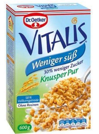 更安全的麦片!Dr Oetker 欧特家博士 Vitalis 早餐麦片 600g 多口味 均一价€6 49 约48元