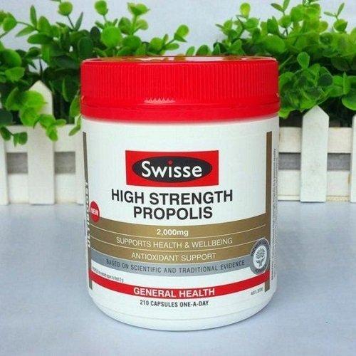 Swisse 高浓度蜂胶 210粒 降三高 预防心脑血管病 特价AU$20 99,约112元