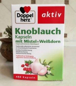 新降价:DOPPELHERZ德国双心大蒜素胶囊 480粒 好价€11 95 约88元