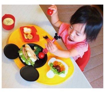 日亚精选:日本锦化成儿童餐具专场,米奇 米妮 小熊维尼等超萌餐具来袭