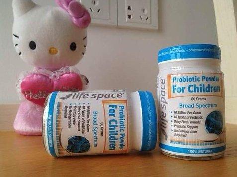 Life Space婴儿益生菌粉(调节肠胃 增强免疫力) 60g 好价AU$23 32 约122元