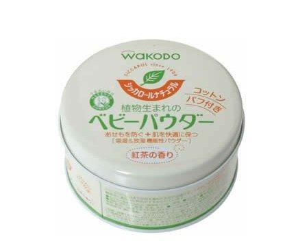 夏日育儿必备:Wakodo和光堂植物性爽身粉 红茶香味120g 会员专享价398日元 约25元