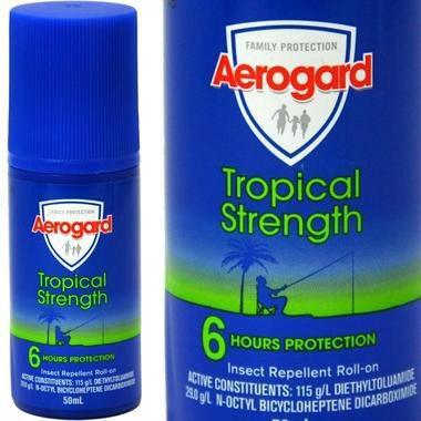 夏天必备:Aerogard 澳洲强效驱蚊防蚊乳液 滚珠 50ml 秒杀价AU$4 35,约23元