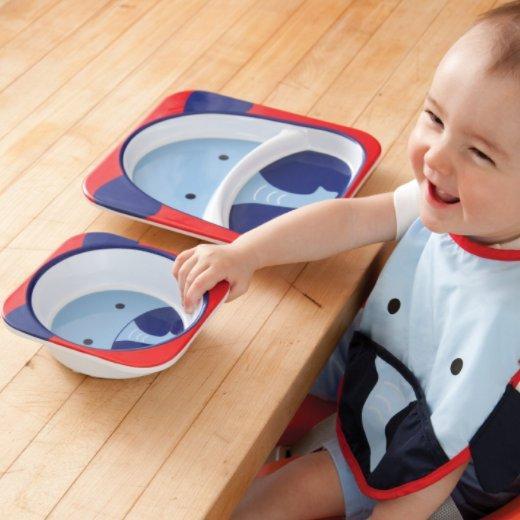 镇店之宝:Skip Hop 可爱动物园 餐具碗碟套组 多款可选 特价79元,满99元包邮