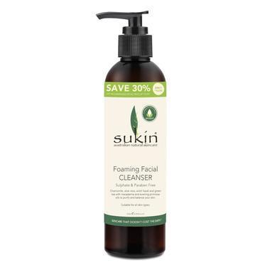Sukin 天然植物泡沫洗面奶 250ml 超值装 (全场满89澳免邮3kg)