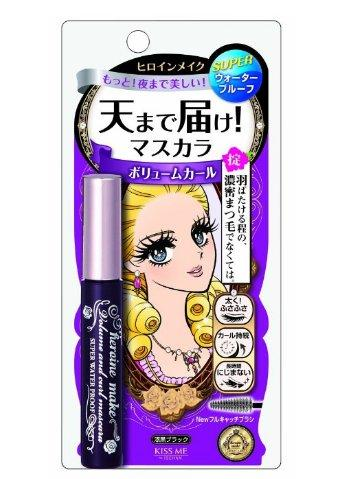 日亚精选:Kiss me睫毛膏、眼线笔、遮瑕粉饼小集合 让妆容每天都美美的!