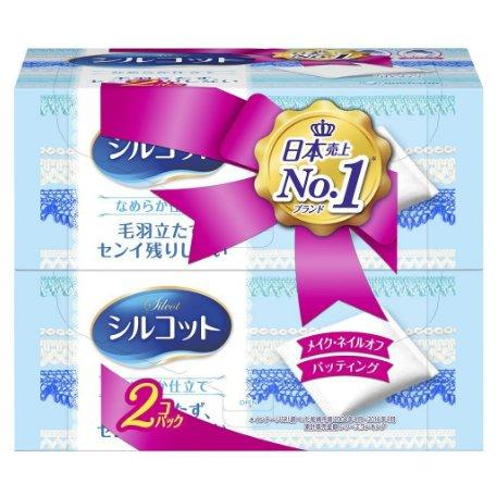 Prime会员专享:Cosme大赏第一Unicharm尤妮佳silcot超省水化妆棉82枚*2盒 183日元 约12元