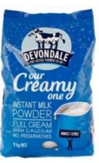 【澳洲Amcal】Devondale 德运 全脂高钙成人奶粉 老人 学生 1kg 全场8 8折