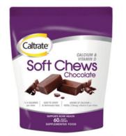 【澳洲Amcal】Caltrateg钙尔奇 补充钙+维生素D软嚼巧克力 60粒 全场8 8折