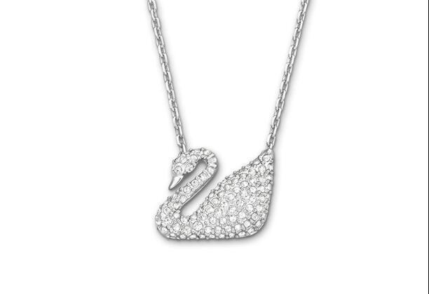 【包邮装】Swarovski 施华洛世奇 Swan 小天鹅水晶项链   包邮券后价:519元
