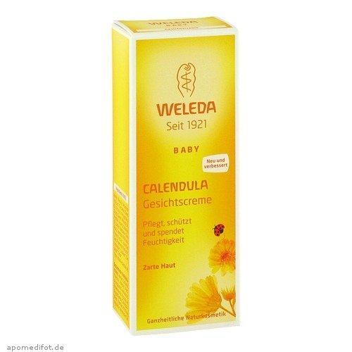 运费仅需5欧(用码BA5HT)+特价 Weleda 维蕾德金盏花婴幼儿保湿面霜 50ml