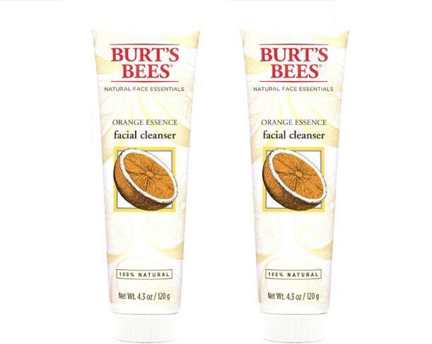 【2件包邮装】Burt& 039s Bees 小蜜蜂 橘子精华洁面乳 2X120g 瓶 包邮券后价:125元