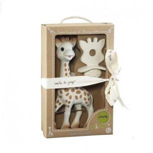 Vulli Sophie 苏菲小鹿牙胶礼盒2件套装乳胶牙胶婴儿牙胶 €19 14(约¥142)