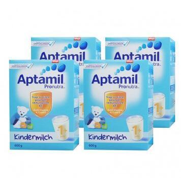 【包邮包税】Aptamil 爱他美 超市版 婴幼儿配方营养奶粉 1+ 1岁及以上 600g4盒