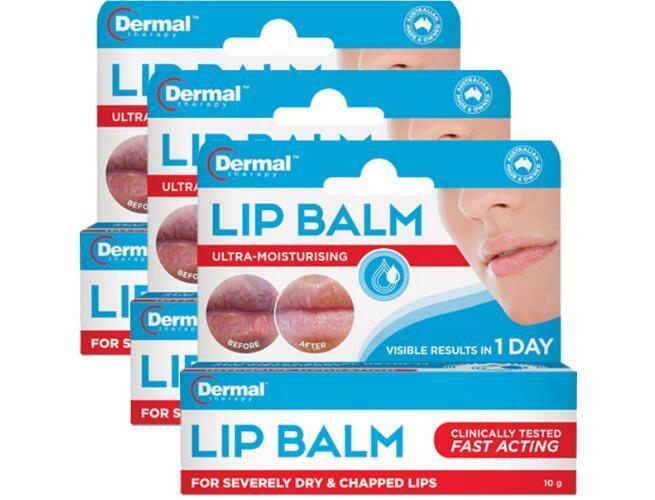 【3件包邮装】Dermal Therapy 修复死皮及干裂润唇膏 3x10g 支  100元(券后包邮包税价)