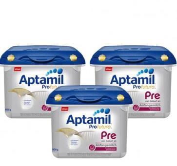 【包邮包税】Aptamil 爱他美 Profutura 白金版Pre段新生儿奶粉 800g3盒
