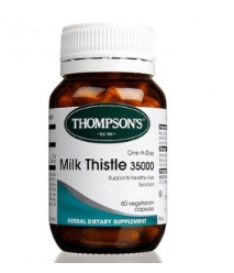 【KiwiDiscovery】Thompson& 039s 汤普森 奶蓟草护肝宝 35000毫克 60粒  21纽 约¥100