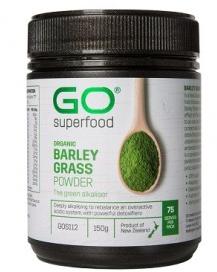【新西兰PD折扣药房】GO Healthy 高之源 有机大麦草粉 150g   用码后5件包邮73 75纽  约¥352