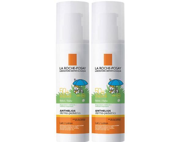 【2件包邮装】La Roche Posay 理肤泉 全效儿童防晒喷雾SPF50+ 2x125ml 263元(券后包邮包税价)