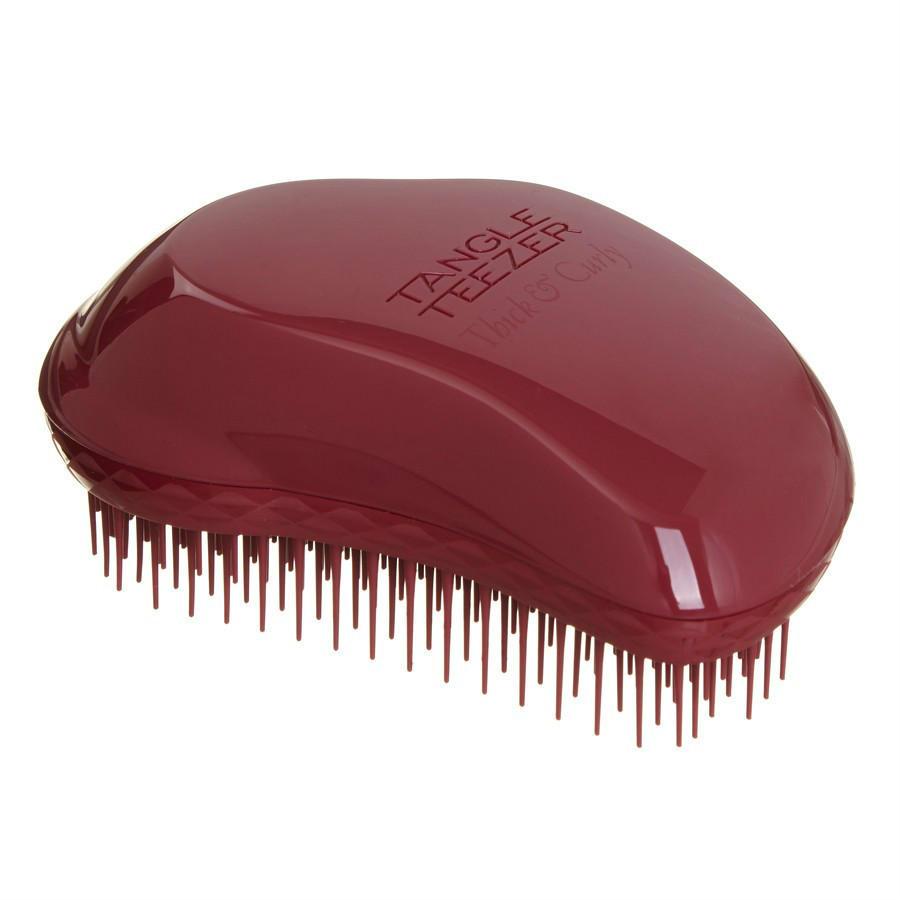 【8折特惠】Tangle Teezer TT梳 专业解结美发梳子 经典款 卷发 粗硬发质专用 浆果色