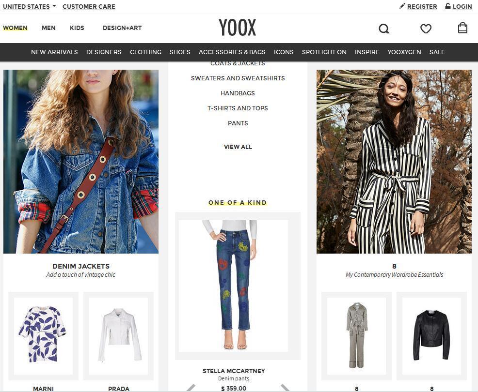 美国YOOX海淘攻略 YOOX美国官网直邮攻略