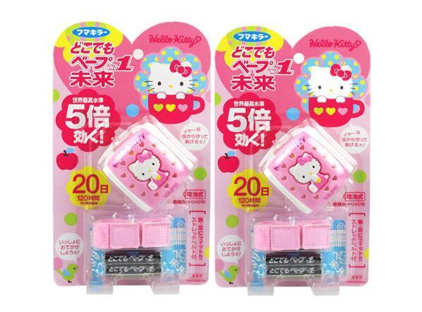 【2件包邮装】VAPE 未来 Hellokitty 手表驱蚊器 + 替换芯2个  234元(券后包邮包税价)