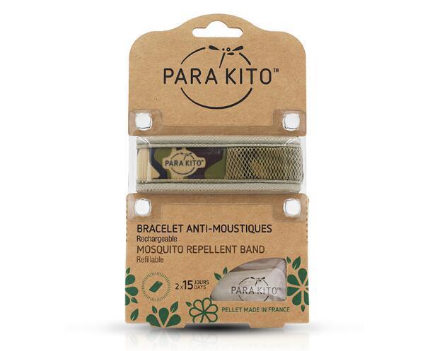 【包邮装】Para& 039Kito 帕洛 天然驱蚊手环 迷彩  110元(券后包邮包税价)